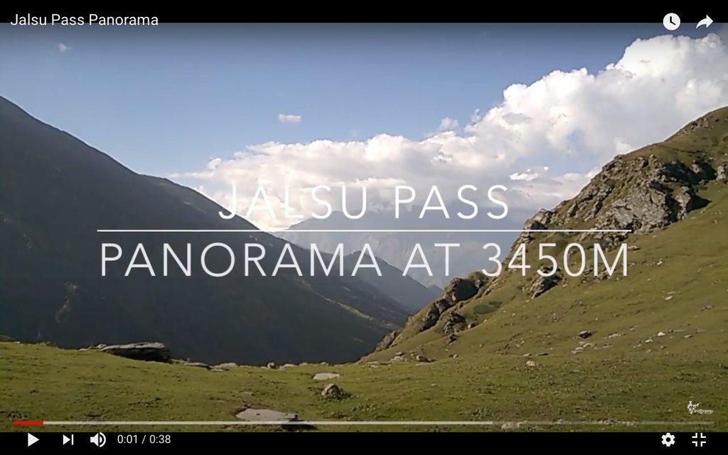Jalsu Pass Panorama